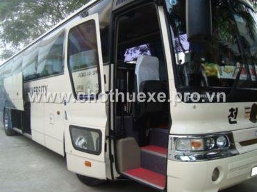 Cần tìm cho thuê xe 45 chỗ giá đảm bảo nhất đi du lịch Đồ Sơn