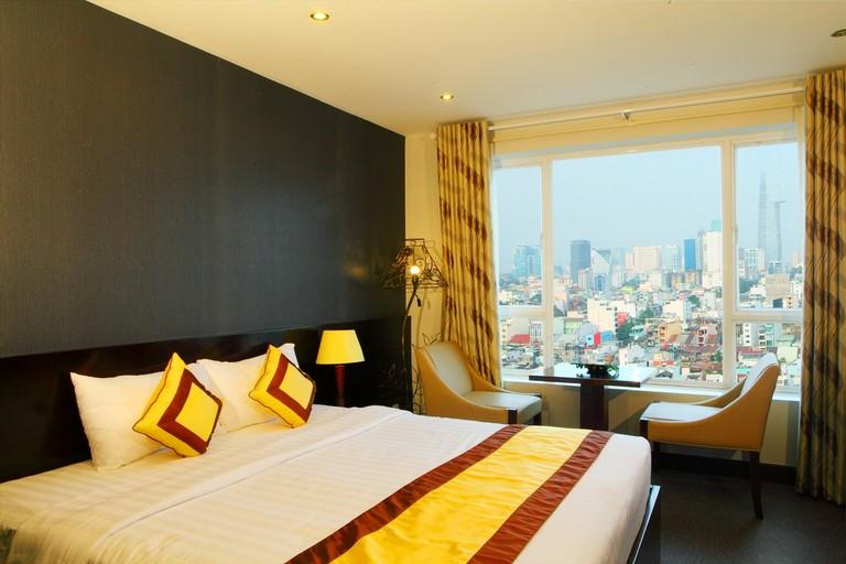 Green Coto Hotel vô cùng yên tĩnh, phù hợp để nghỉ ngơi