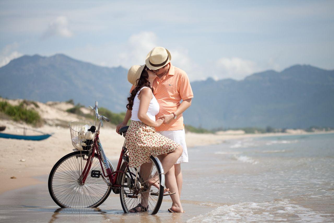 Thuê xe đạp để tham quan quanh đảo