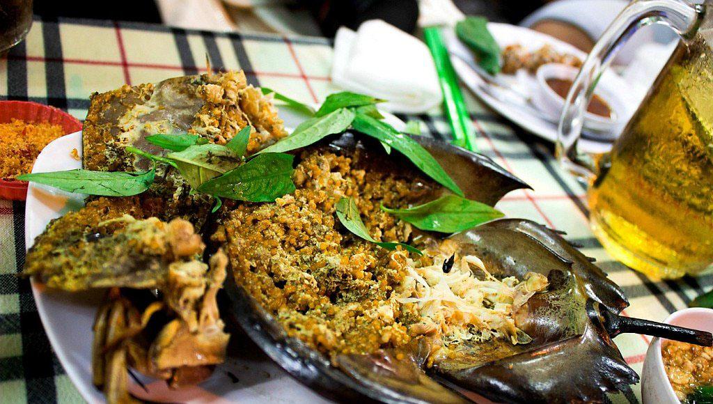 Các món ăn từ sam biển