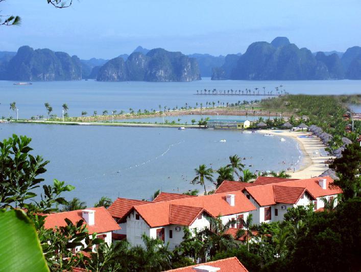 nhà nghỉ trên đảo tuần châu