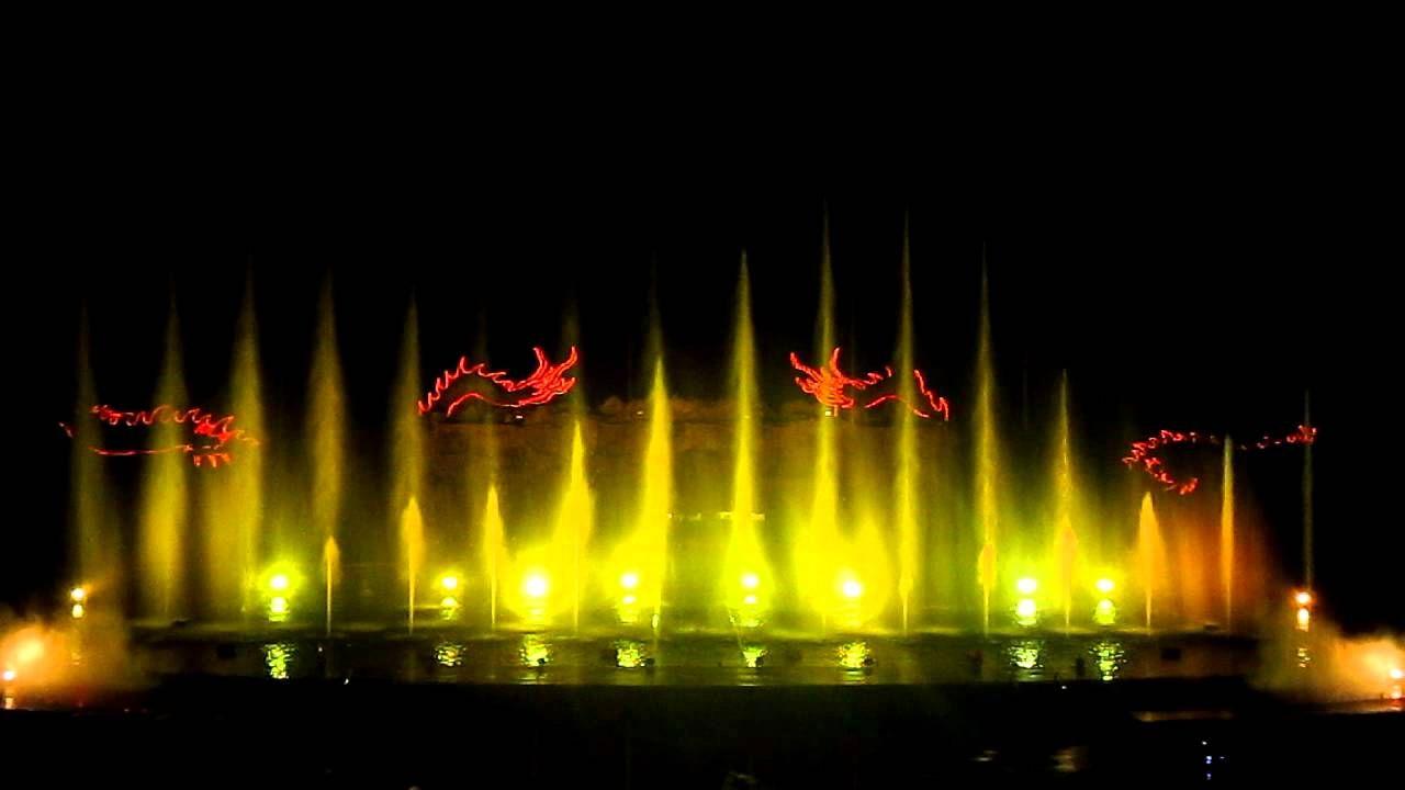 Công viên nhạc nước là công trình nổi bật của đảo Tuần Châu