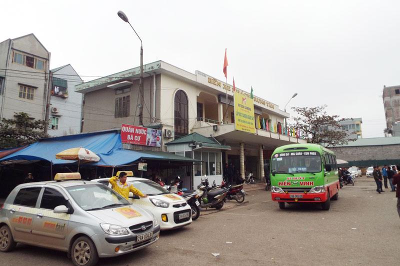 Hòa Bình đẩy mạnh đầu tư cơ sở hạ tầng vào các bến xe khách