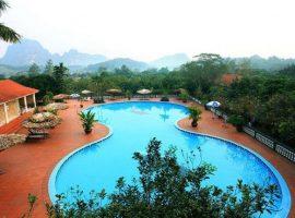 V Resort Hòa Bình thu hút nhiều du khách tới nghỉ dưỡng