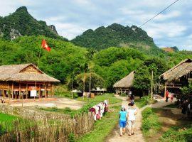 Mai Châu trở thành trung tâm du lịch của tỉnh Hòa Bình