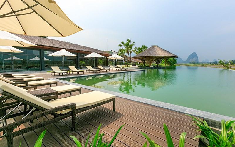 Kim Bôi Hòa Bình có khung cảnh tuyệt đẹp, hấp dẫn du khách