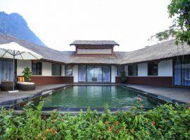 Khu nghỉ dưỡng Serena Resort với khung cảnh thiên nhiên tuyệt đẹp