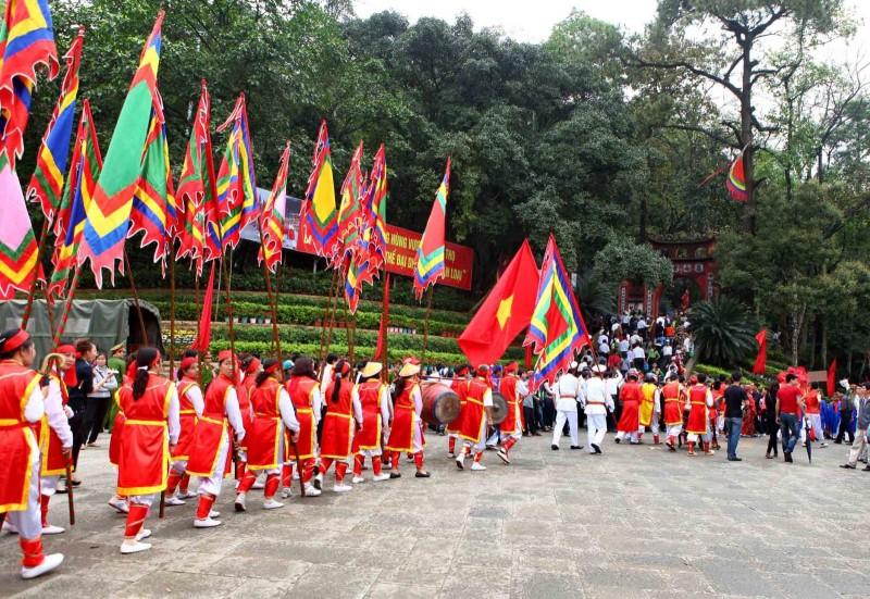 Lễ hội đền Hùng chứng kiến nhiều hình ảnh đẹp