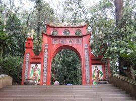 Hình ảnh những bậc thang ở đền Hùng