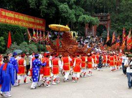 Lễ hội Đền Hùng tổ chức ở đâu?