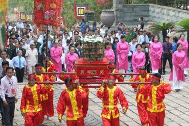 Lễ hội đền Hùng sẽ do tỉnh Phú Thọ chủ trì tổ chức