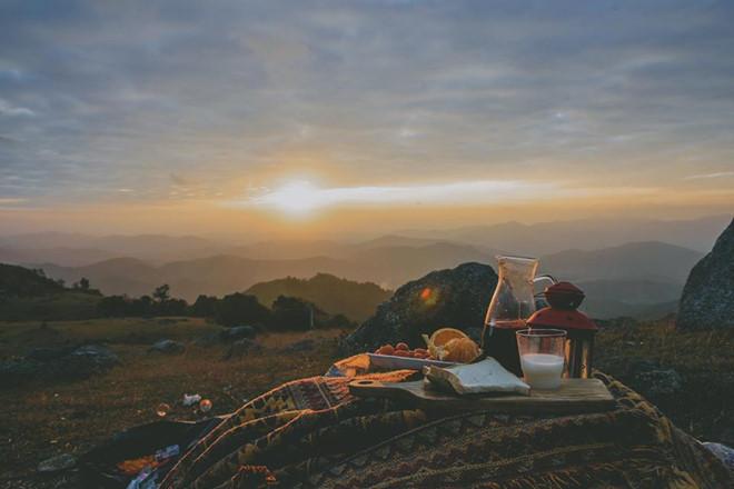 Vui chơi thỏa thích tại những khu cắm trại dã ngoại quanh Hà Nội