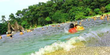 Thiên nhiên khí hậu mát mẻ vào mùa hè ở Khoang Xanh Suối Tiên