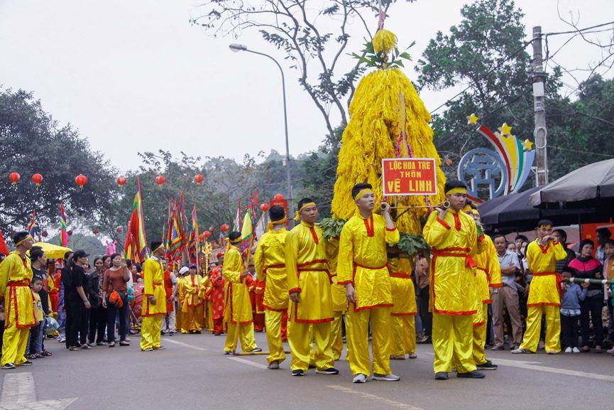 lễ hội Đền Gióng Sóc Sơn Hà Nội