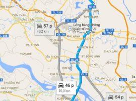 đền Gióng Sóc Sơn Hà Nội map