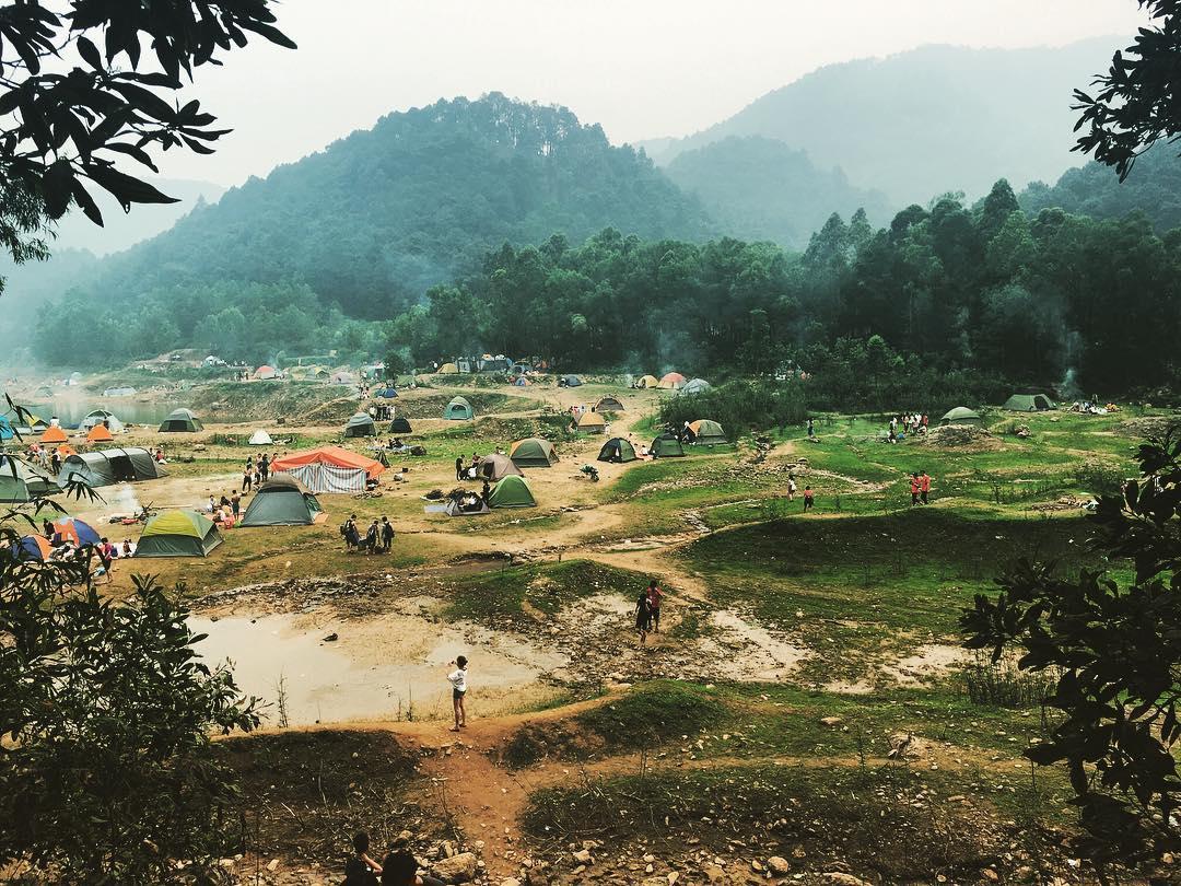 du lịch Hàm Lợn Nam Sóc Sơn Sơn Hà Nội